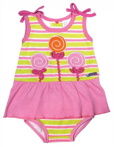 Baby Girls Sozo Lollipop Candy 2 Piece Summer Jumper Set