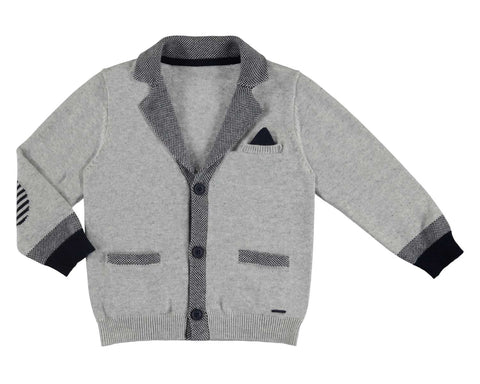 Mayoral Boys Dress Sweater Suit Jacket Cardigan Style 3421