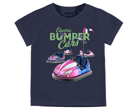 Mayoral Boys Bumper Cars Tshirt Style 3043 - Runwayz Boutique