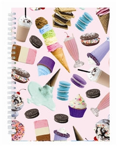 Ice Cream Pink Sweet Tooth Treats Journal by Iscream - Runwayz Boutique