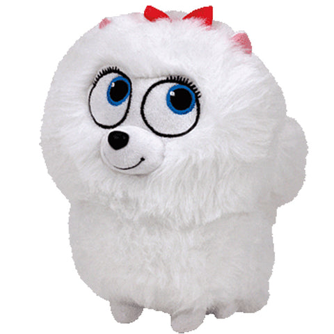 Gidget Secret Life of Pets White Dog Stuffed Toy