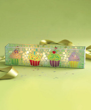 Tag Birthday Cupcake Tealite Holder