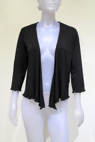 Ladies Tango Mango Black Cardigan Coverup Bolero