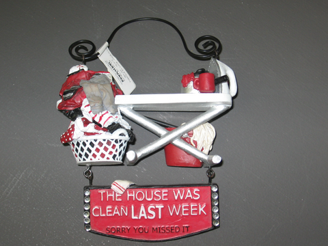 Innovation Ornament Wall Hanging House Was Clean Last Week Sorry You Missed It