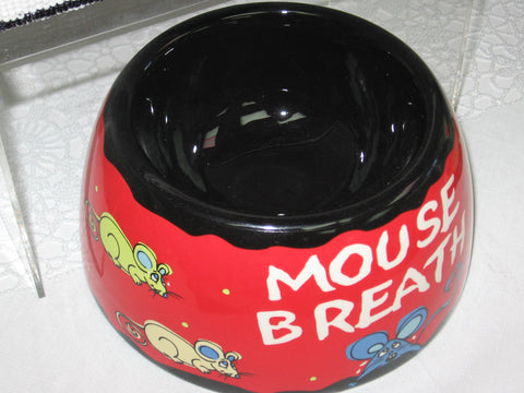Ganze Mouse Breath Cat Dish - Runwayz Boutique