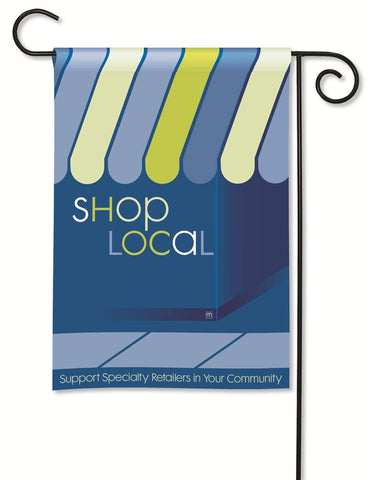 Matmates Shop Local Flag Support Specialty Retailers in Your Community MW39876