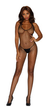 Load image into Gallery viewer, cso-diamond-net-open-crotch-bodystocking