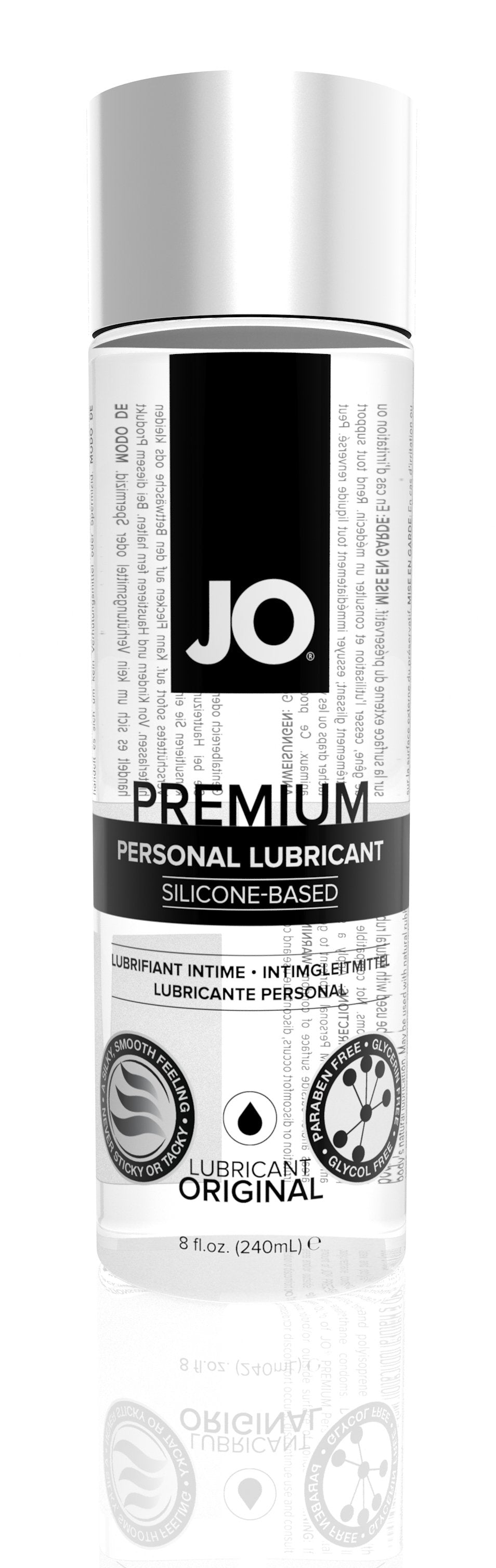JO Premium Silicon 8 Oz / 240 ml
