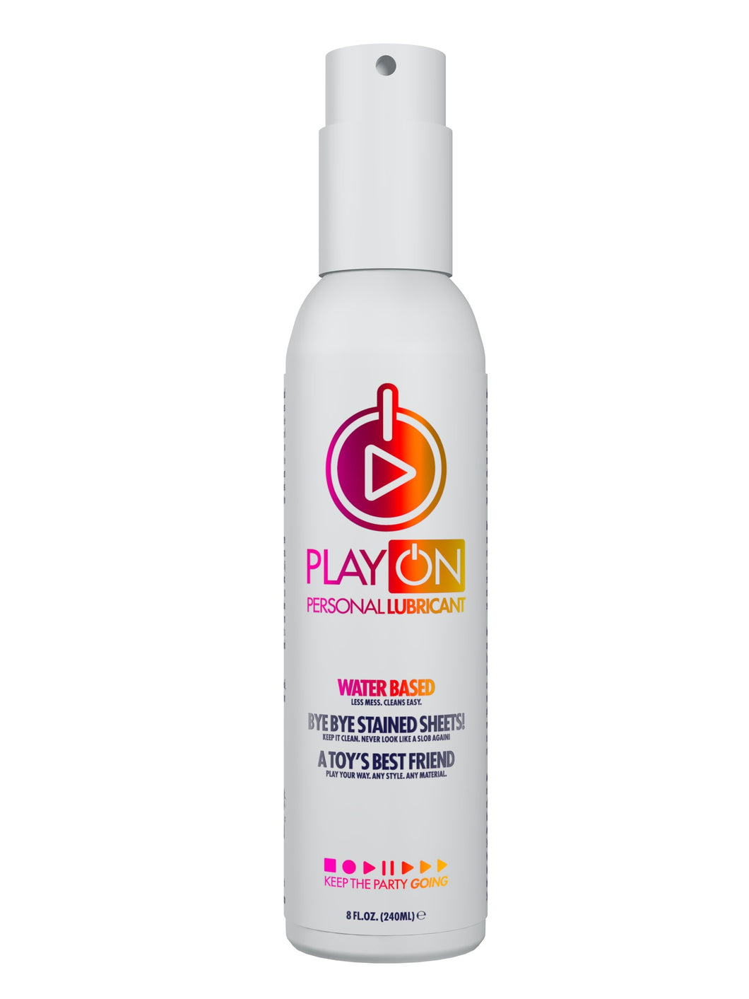 Play-On Water 8 Oz / 240 ml (T)