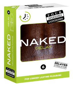 Condom 12pk Naked Delay 54mm