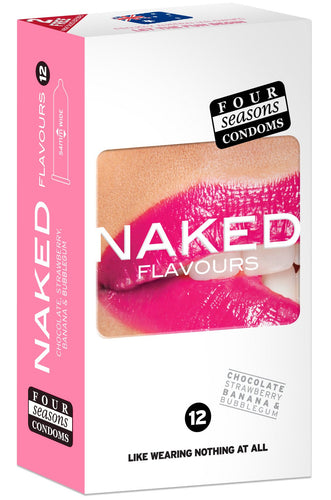 Condom Ultra Thin 12pk Naked Flavours 54mm
