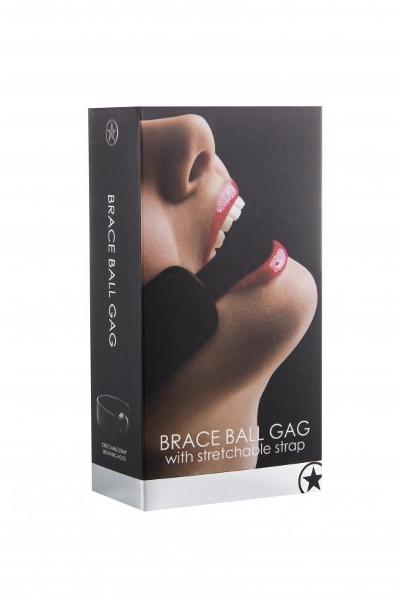 Brace Ball Gag - Black