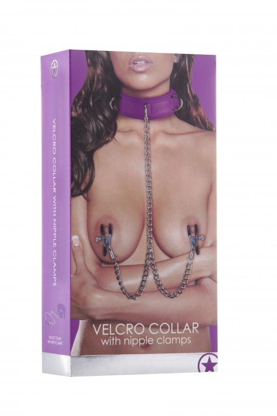 Velcro Collar - Purple