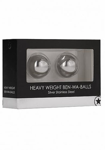 Heavy Weight Ben-Wa-Balls - Silver