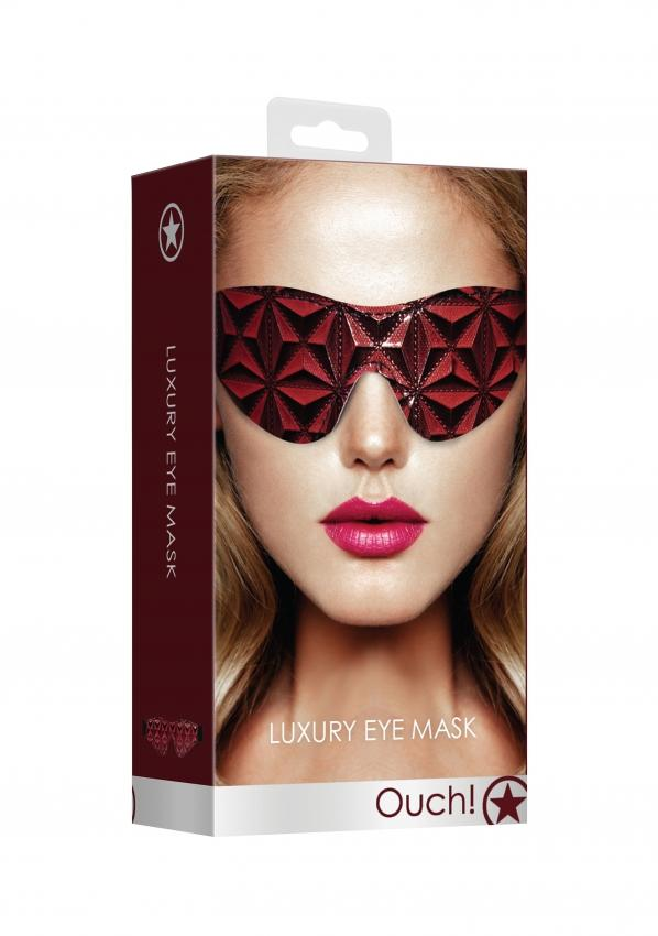 Luxury Eye Mask - Burgandy