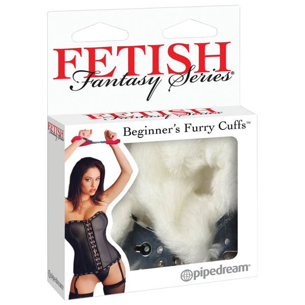 Fetish Fantasy Series Beginner's Furry Cuffs -  Fluffy Cuffs