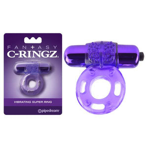 Fantasy C-Ringz Vibrating Super Ring -  Vibrating Cock Ring