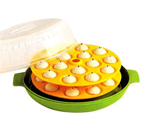 Trust Microwave Idli Pizza Maker - 30 snacks Idlies - halfrate.in