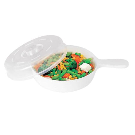 Trust Microwave Pan With Lid - halfrate.in