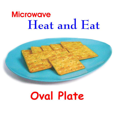 Trust Microwave Heat and Eat Oval plate Big - halfrate.in