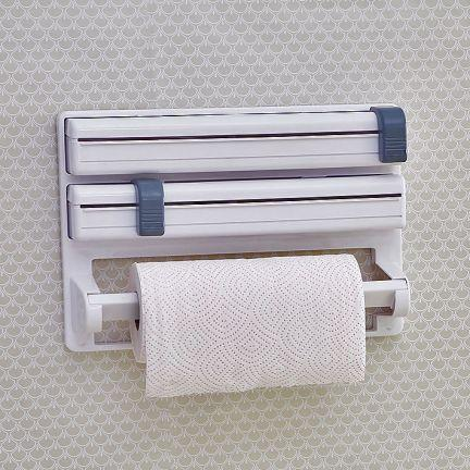 Trust Tri Wrap - Arrange cling film, kitchen foil, paper roll easily - halfrate.in