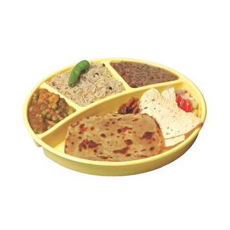 Trust Microwave Heat And Serve Partition Thali - halfrate.in