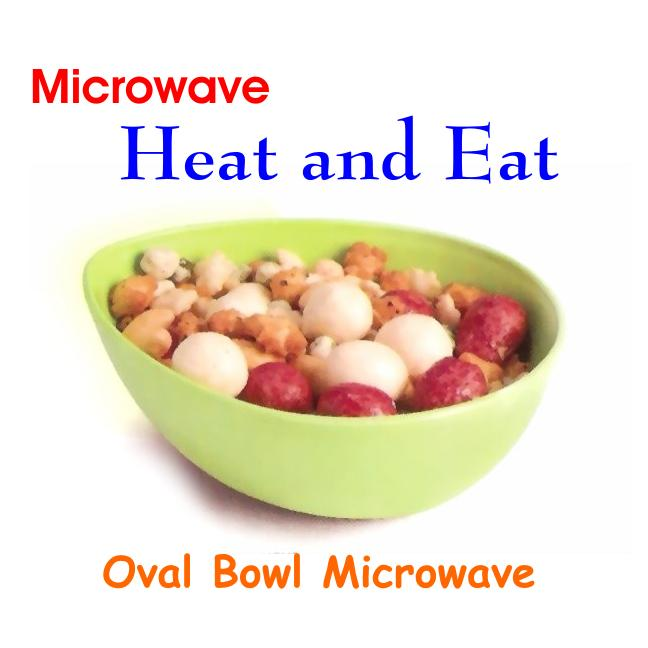 Trust Microwave Heat And Serve Oval Bowl - halfrate.in