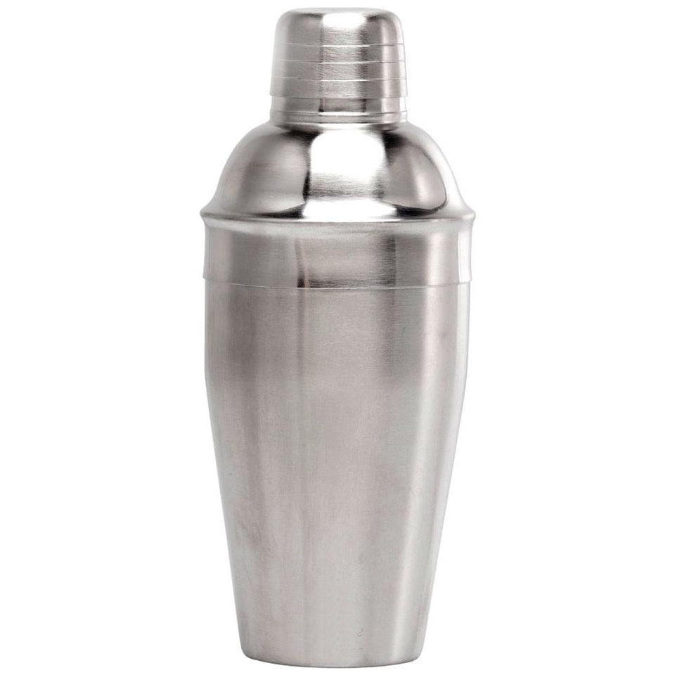 Cocktail Shaker, Stainless Steel, Mirror Finish, 3-Piece Set - Party Harder - halfrate.in