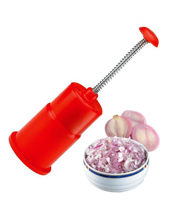 ONION AND VEGETABLE CHOPPER -PUSH and CHOP - halfrate.in