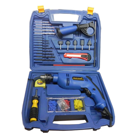 Saleshop365® Toolkit with Powerful Drill machine - Forward and Reverse Action - halfrate.in