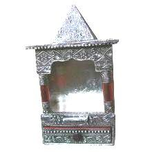New Attractive White Metal Temple - halfrate.in