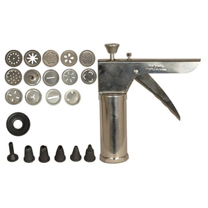 Bhujia Maker and Icing Decorative Kitchen Press Farshan Maker - halfrate.in