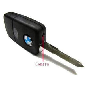 SPY CAR KEY CHAIN CAMERA BMW SCODA TYPE KEY VIDEO AUDIO VOICE RECORDER MINI DVR Spy Camera Keychain - halfrate.in