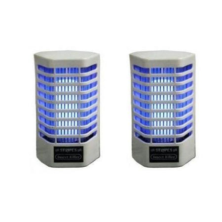 Set Of 2 Electric Fly / Mosquito Killer cum Night Lamp - halfrate.in
