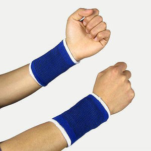 Ratehalf®  Elastic Wrist Support Band - Pair - halfrate.in