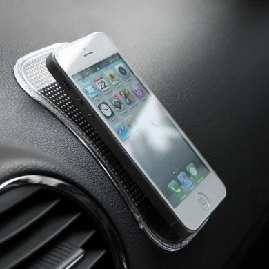 Anti Non Slip Car Dash Mat Sticky Pad Powerful Silicon Gel - halfrate.in