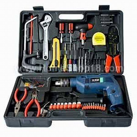 Saleshop365® 102 pcs Powerful Drill machine Kit with lots of Accessories - halfrate.in