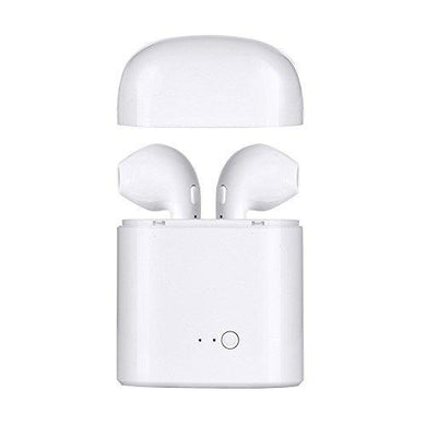 Ekdant® i7s TWS Mini Twin Portable Wireless Bluetooth Earphones with Active Noise Cancellation Technology and Charging Box for All Smart phones - halfrate.in