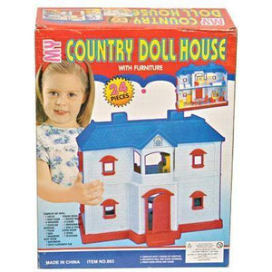 New Baby Doll House For Your Children  24 pcs - halfrate.in