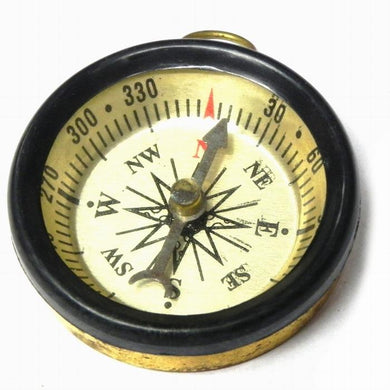 BRASS Finish Magnetic Compass, very useful in FengShui and Vastu Shastra