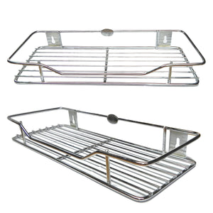 "New Stainless Steel Multipurpose Rack size 9"" X 12"" - Easy to install - halfrate.in"