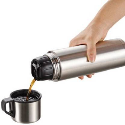 Imported Stainless Steel Vacuum Flask 1 L - halfrate.in
