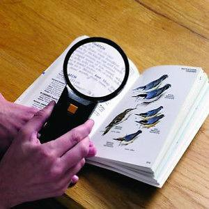 Big SIZE ILLUMINATED MAGNIFYING GLASS - Highly recommended - halfrate.in
