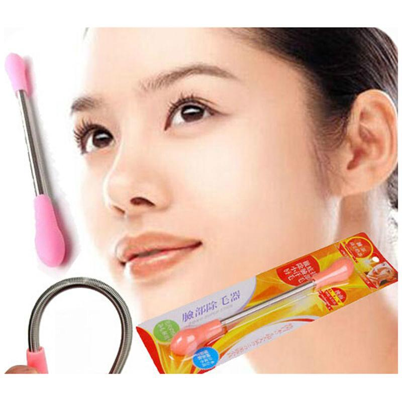Ratehalf® Facial Hair Remover Spring Epilator , Hair Remover Beauty Tool - halfrate.in