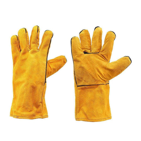 Protective Durable Heat Resistant Welding Work Gloves - halfrate.in