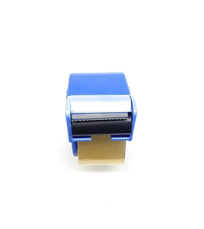 Manual Tape Dispenser with Stainless Steel Blade for Parcel Packing & Carton Sealing (2 Inch) - halfrate.in