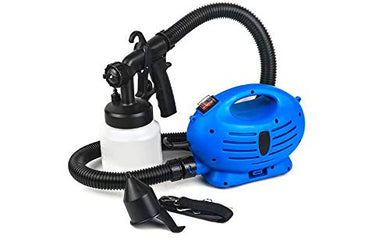 PaintZoom Portable Sanitizer Sprayer & Paint Sprayer Handheld Electric Spray Gun Kit | Spray Gun Tool Compressor Gun Sprayer Machine for Home Painting