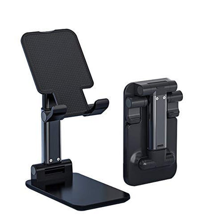 Ekdant® Heavy Mobile Stand for Table Phone Holder Desk Accessories for Home Office Flexible Height Angle Adjustment for All Mobile & Tablet Metal Original