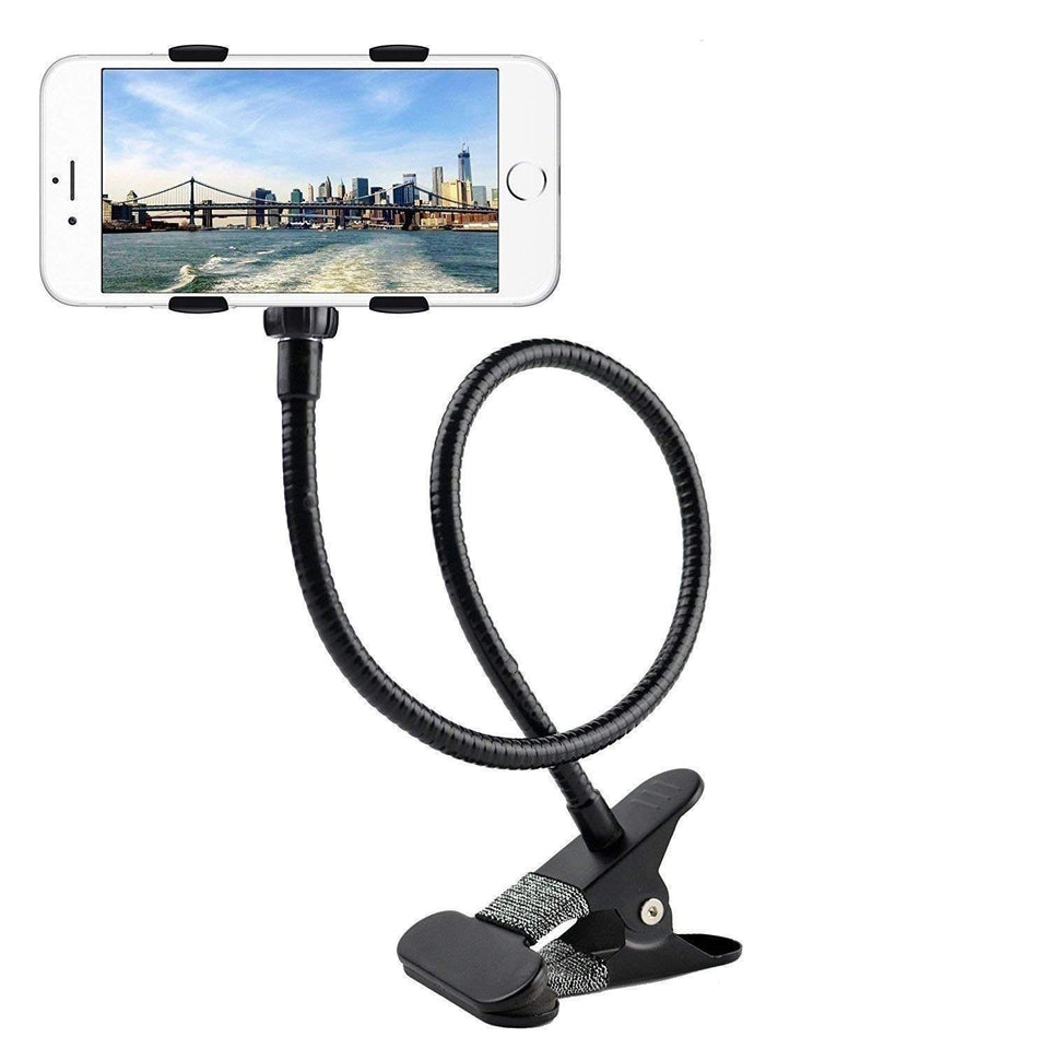 Ekdant® Universal Mobile Phone Stand and Tablet Stand with 360° Rotating Lazy Stand for Desk, Bed, Office, Kitchen (Comes with a Small Desktop Phone Holder)