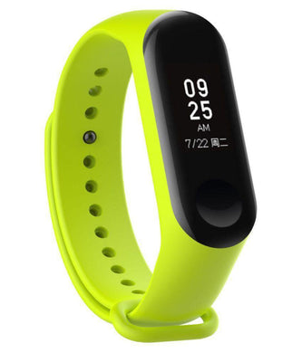 Ratehalf® M3 Band Bluetooth 4.0 Sweatproof Smart and Sleek Fitness Wristband with Heart Rate Monitor Tracker Green - halfrate.in